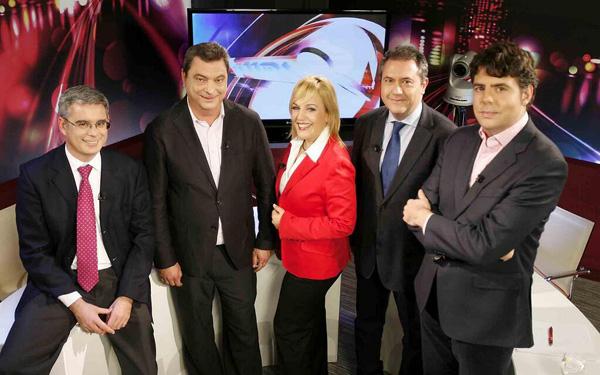 Integrantes del debate de este miércoles en La Lupa. / Rodríguez Aparicio