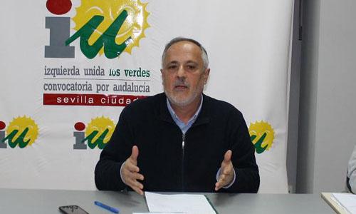 El nuevo portavoz municipal de IU, José Manuel García.