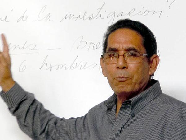 Raymundo Brenes, autor del libro Raimundo Brenes Madriz.