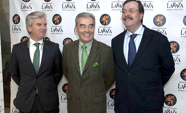 Miguel Guillén (Baltasar), Alberto López (Gaspar) y Luis Cáceres (Melchor).