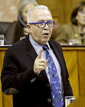 El consejero de Economía, José Sánchez Maldonado
