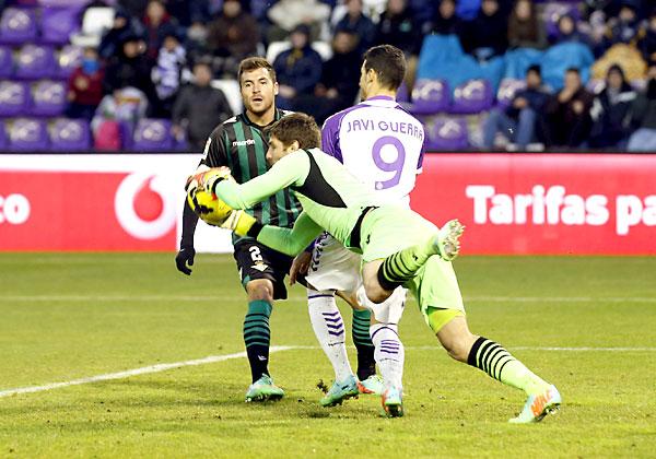 Valladolid - Real Betis. / Foto: EFE