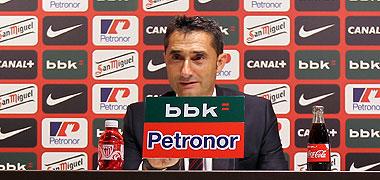 Ernesto Valverde, entrenador de los 'leones' / Athletic Club