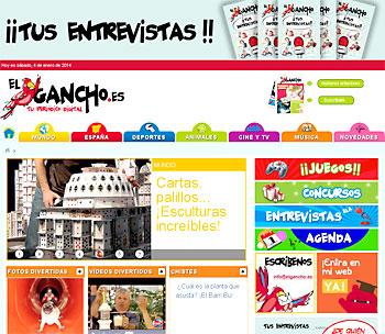 Edición digital de 'El Gancho'.