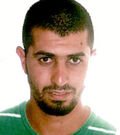 Abdeluahid Sadik Mohamed, el presunto terrorista detenido. / EFE
