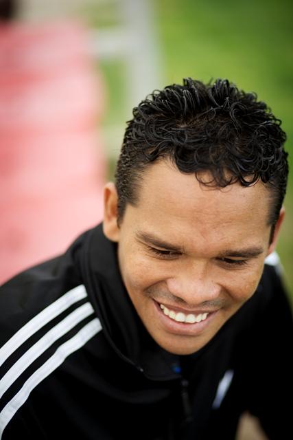 Bacca asegura que el equipo tiene la moral alta a pesar de las últimas derrotas. / Pepo Herrera