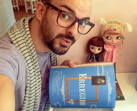 El utrerano Rafael Rodríguez Girona comercializa sus muñecas bajo la marca Erregiro.