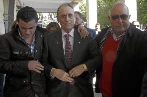 Manuel Ruiz de Lopera, en su última visita al juzgado / Íñigo Hidalgo
