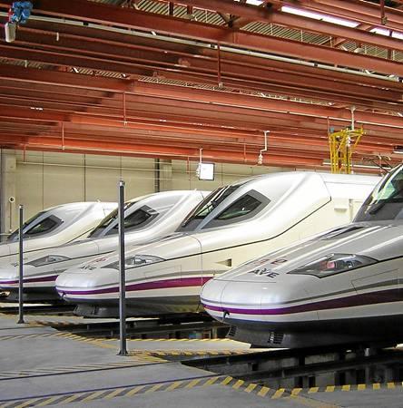 Andalucía se ha convertido en un referente en infraestructura ferroviaria de alta velocidad.