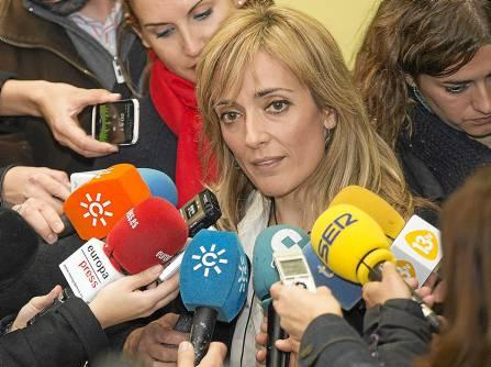 Carmen Castilla, Secretaria General de UGT Andalucía.
