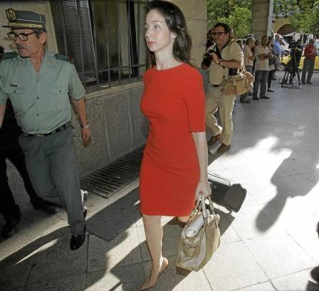 La jueza instructora del caso de los ERE, Mercedes Alaya, en los juzgados de Sevilla. / EFE