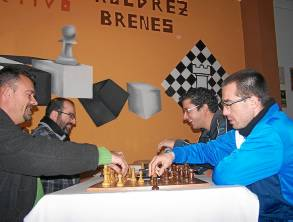 Miembros del Club Deportivo de Ajedrez Brenes.