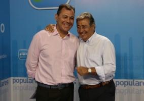 El líder del PP-A, Juan Ignacio Zoido, y su número dos, José Luis Sanz