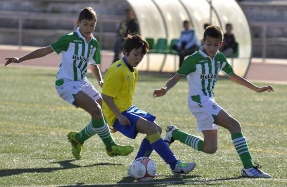 Sevilla 22 02 2014: Betis - cadiz, torneo de alevines<br />FOTO:J.M.PAISANO