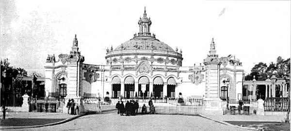 El Casino de la Exposición y el Teatro Lope de Vega nacieron como conjunto para ser el Pabellón de Sevilla en la Exposición Iberoamericana de 1929.