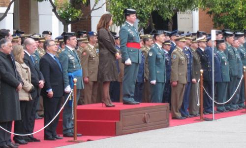 El coronel Fernando Mora Moret ha tomado posesión este martes como nuevo jefe de la Comandancia de la Guardia Civil de Sevilla.