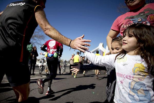 Maratón Ciudad de Sevilla. / Pepo Herrera