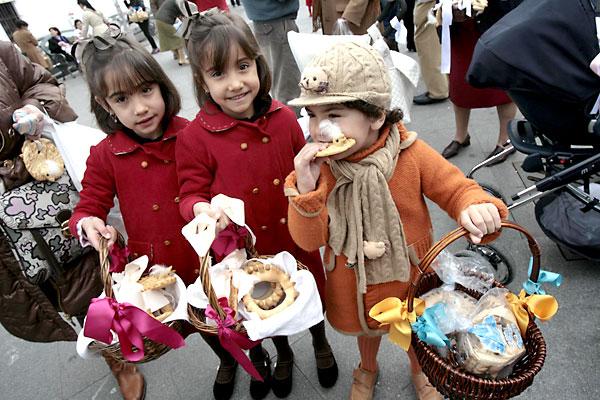 Imagen de archivo de la festividad de San Blas. / José Manuel Cabello.