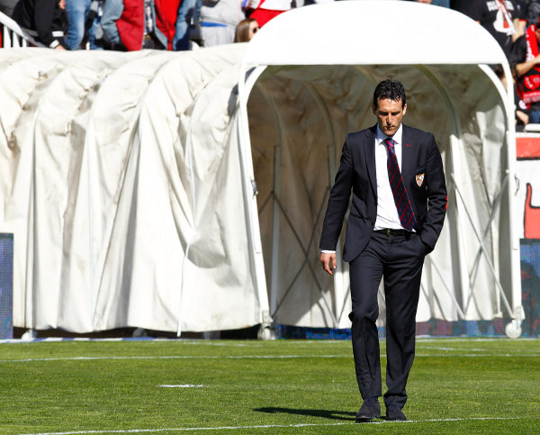 Emery, en Vallecas (Rafa Casal).