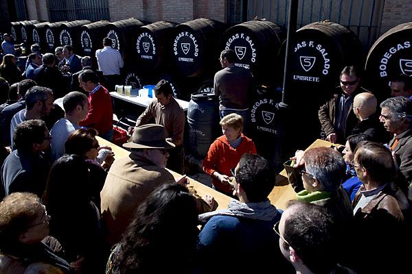 Feria del Mosto y de la aceituna fina en Umbrete. / Pepo Herrera