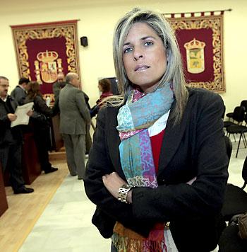 Ana Hermoso, alcaldesa popular de Bormujos, imputada por un juez por soborno. / Paco Cazalla