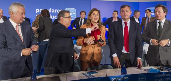COSPEDAL PRESIDE LA JUNTA DIRECTIVA DEL PP DE ANDALUCÍA