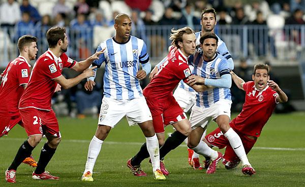 Málaga CF - Sevilla FC. / Foto: Marcamedia