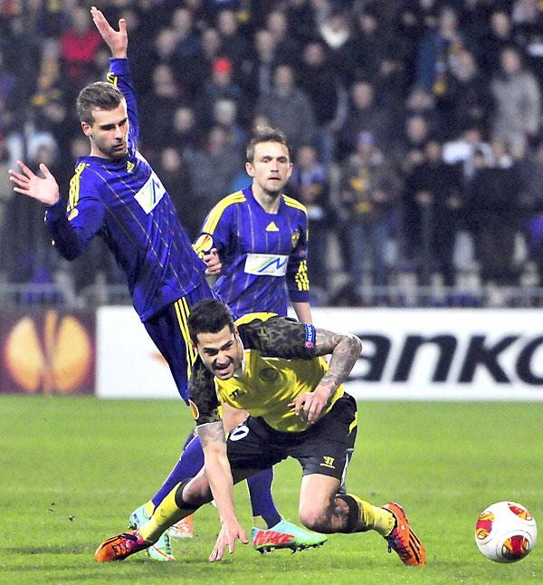Maribor - Sevilla FC. / EFE