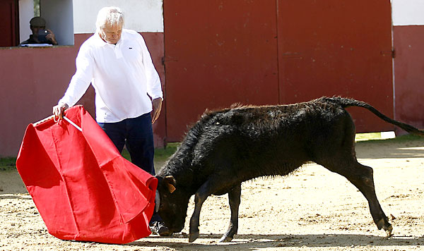 Benítez se prepara para volver a actuar en público en su tierra. / González Arjona