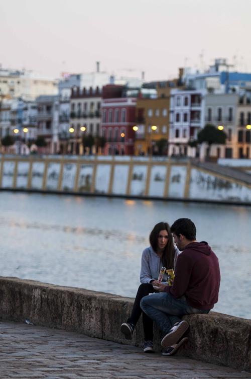 Buen tiempo en Sevilla. Foto: J.M. Paisano