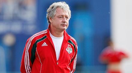 El entrenador del Rubin Kazan, Rinat Bilyaletdinov.