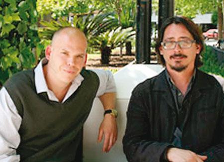 Luis Felipe Torrente y Daniel Suberviola, autores del cortometraje documental.