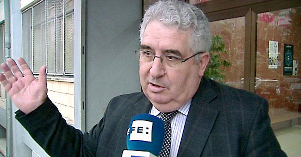 El director del colegio Valdeluz Agustinos de Madrid, Eustaquio Iglesias. / EFE