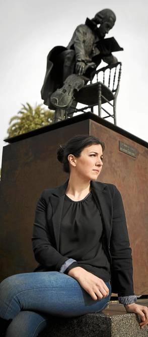 Beatriz González, directora de la orquesta de mujeres Almaclara / Pepo Herrera