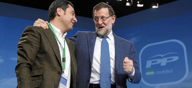 Rajoy y Moreno Bonilla clausuraron ayer el congreso del PP-A.