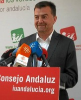 El coordinador regional de IU, Antonio Maíllo