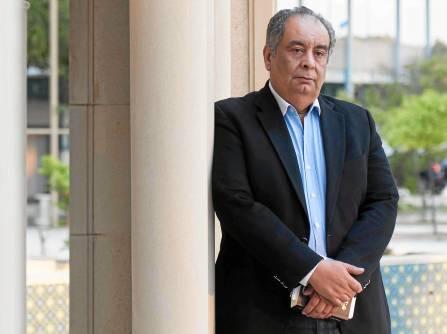 Youssef Ziedan, uno de los grandes escritores del panorama egipcio actual.