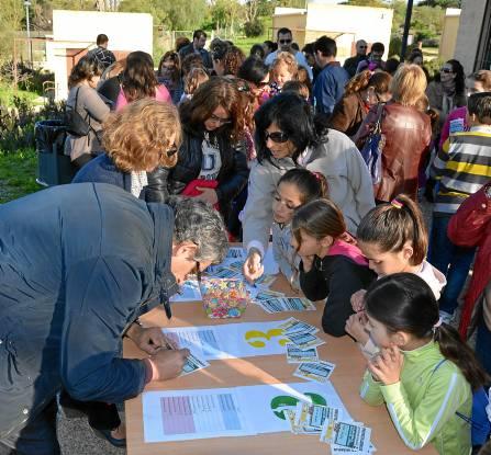 Cerca de un centenar de niños participaron el sábado en las jornadas de formación del Proyecto Lazarillo.
