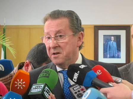 El consejero de Justicia e Interior, Emilio de Llera.
