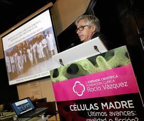 Guillermo Antiñolo, ayer en la jornada de la Fundación Rocío Vázquez.