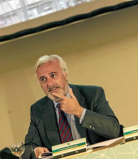El presidente del Metro, Luis Sánchez Salmerón. / José Luis Moreno