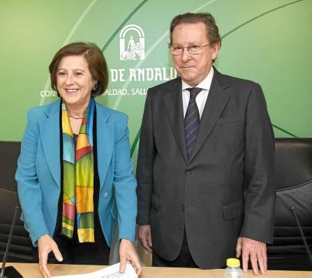 María José Sánchez Rubio y Emilio de Llera