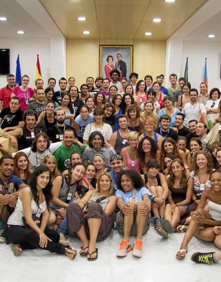Participantes de distintos lugares del mundo en la segunda edición del Encuentro Internacional. / Álvaro Trigos