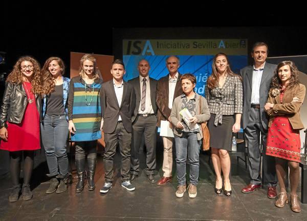 Los impulsores de Iniciativa Sevilla Abierta/ J. M. Paisano