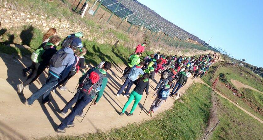 En algunas de las seis primeras etapas del Camino de Santiago por la Vía de la Plata se dieron cita más de 170 peregrinos.