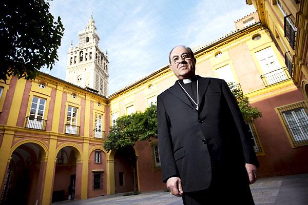 Juan José Asenjo, arzobispo de Sevilla. / Pepo Herrera