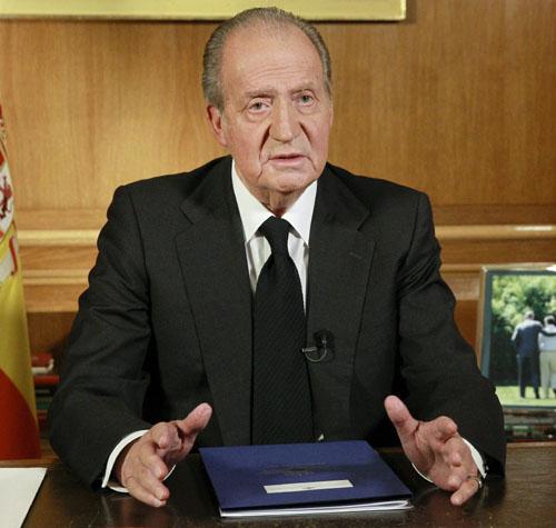 MENSAJE DEL REY JUAN CARLOS TRAS LA MUERTE DEL EXPRESIDENTE ADOLFO SUÁREZ