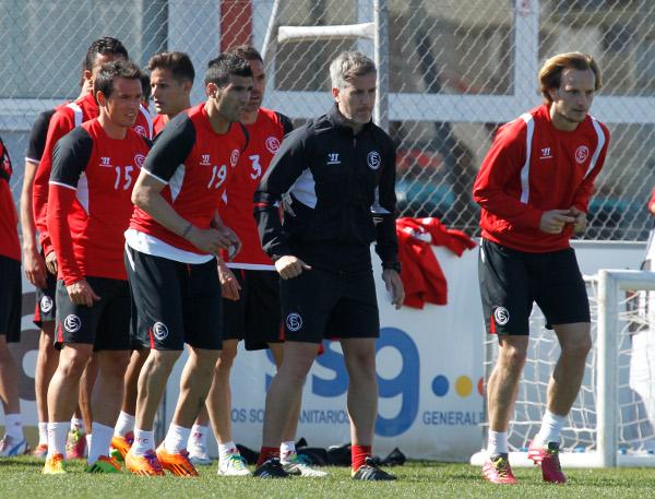Los jugadores, dispuestos a prolongar la racha (Ramón Navarro)