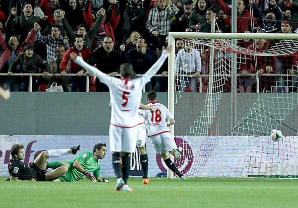 Sevilla FC - Real Sociedad. / Foto: Ramón Navarro