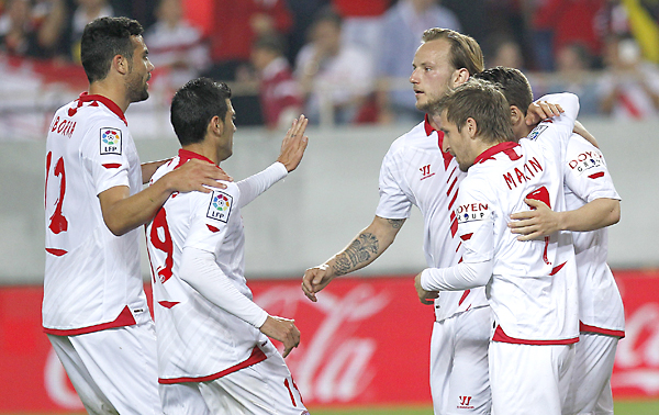Sevilla FC - Real Valladolid. / Foto: EFE